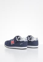 New Balance  - Kids 373 - navy & red