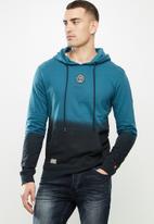 S.P.C.C. - Tyreece pullover hoodie - teal