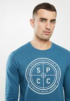 S.P.C.C. - Vance crew neck sweat - teal