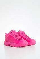 FILA - Disruptor ii premium mono - pink