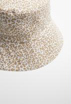 Freya Hats  - Nara bucket hat - white & gold