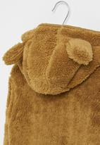 POP CANDY - Teddy jacket - light brown
