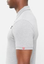 S.P.C.C. - Camara side slit straight hem polo - grey