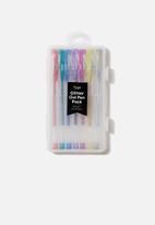Typo - Gel pens 7 pack - multi glitter