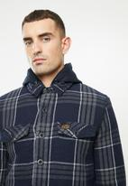 Superdry. - Expedition hood - navy