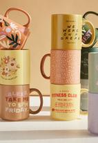 Typo - Daily mug - mid tan meadow ditsy