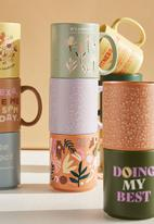 Typo - Daily mug - folk