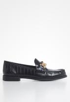 Steve Madden - Triple loafer - black