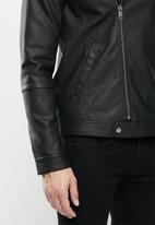 Brave Soul - Coneyblack jacket - black