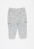 POP CANDY - Baby boys cargo jogger - grey