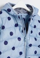 POP CANDY - Girls polka dot jacket - blue