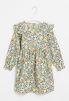 POP CANDY - Girls long sleeve floral dress - multi