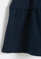 POP CANDY - Girls tiered skirt - navy