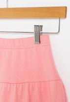 POP CANDY - Younger girls tiered skirt - pink