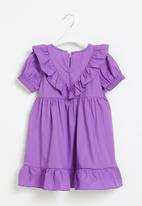 POP CANDY - Girls ruffle dress - purple