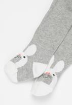 POP CANDY - Baby girls design tights - grey