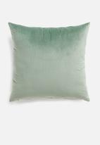 Sixth Floor - Lure cushion cover - jade