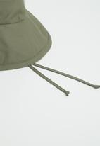 Freya Hats  - Maya wide brim bucket hat - olive