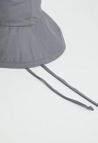 Freya Hats  - Maya wide brim bucket hat - grey