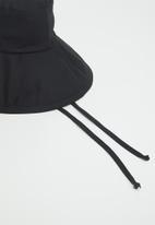 Freya Hats  - Maya wide brim bucket hat - black