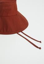 Freya Hats  - Maya wide brim bucket hat - rust