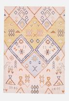 Sixth Floor - Cadence printed chenille rug - multi