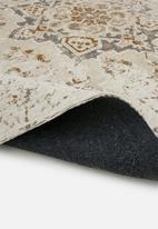 Sixth Floor - Rust chenille rug - multi