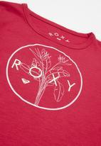 Roxy - Endless music foil long sleeve - pink