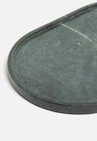 Sixth Floor - Marble tray - green