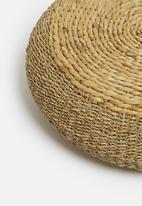 Sixth Floor - Kylo seagrass ottoman