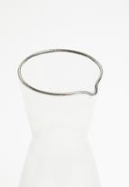Excellent Housewares - Smokey carafe - clear