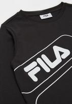 FILA - Xavier long sleeve tee - black