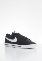 Nike - Court legacy - black/white-gum light brown