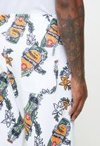Holmes Bro's - Beers trackpant - white