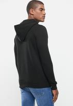 Alpha Industries - Alpha basic hoodie - black mono