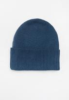 Superbalist - Ribbed knit beanie - blue