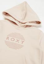 Roxy - Doing yoga hoodie - light pink
