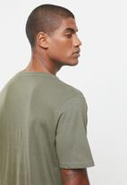 Cotton On - Essential v-neck short sleeve tee - military