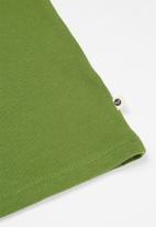 Roxy - Day and night logo tee - green