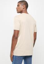 Factorie - Slim T-shirt - beige