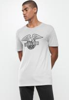 Factorie - Regular fit short sleeve tee - grey