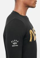 Alpha Industries - Nasa crew sweat - black