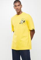 PUMA - Puma x peanuts tee - yellow