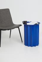 Sixth Floor - Origami side table - blue