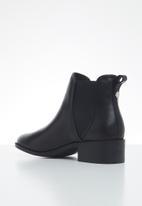 Steve Madden - Dares leather chelsea boot - black