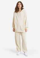 PUMA - Classic oversized hoodie - off white