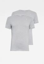 G-Star RAW - Base r short sleeve 2-pack tee - grey
