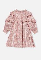 Cotton On - Deonne long sleeve dress - multi