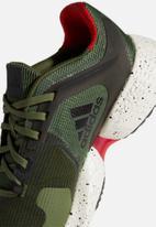 adidas Performance - Alphatorsion m - wild pine/core black/vivid red