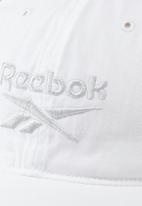 Reebok - Te logo cap - white